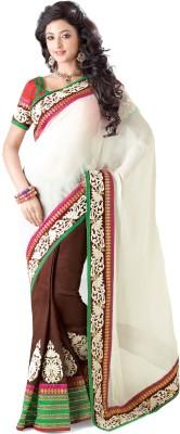 Kashish Lifestyle Embellished Fashion Handloom Net Sari