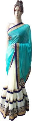NEW LOOK DESINER Embriodered Fashion Lycra Sari