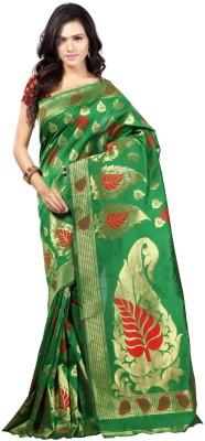 SK Self Design Fashion Banarasi Silk Sari