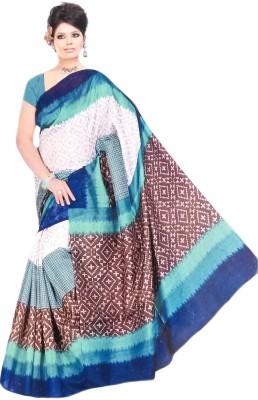 Suvida Printed Bollywood Cotton, Silk Sari