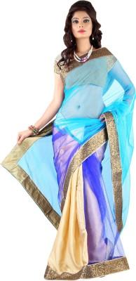 Stylo Designer Self Design Fashion Handloom Net Sari