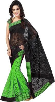 Anju Sarees Self Design Fashion Handloom Brasso Sari