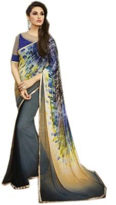 Shopcartz Printed Bollywood Silk Sari