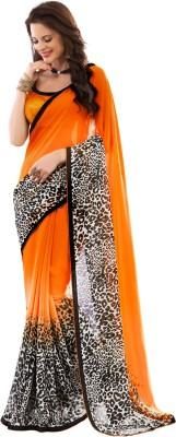 Senorita Fashion Printed Fashion Georgette Sari