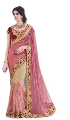 siddhi garment Solid Chanderi Silk Sari