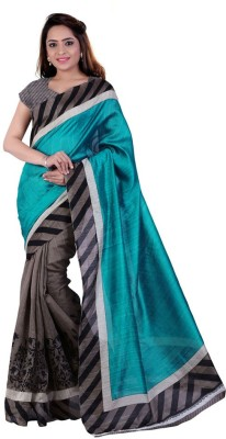 9RANGETHNIC Printed Daily Wear Georgette Sari
