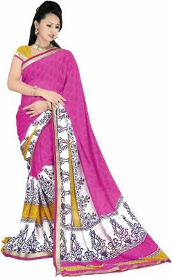 Glamoroussurat Fashion Printed Bollywood Handloom Georgette Sari