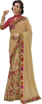 MelluhaFashion Embriodered Fashion Jacquard Sari