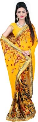 Parinaaz Embriodered Bollywood Georgette Sari