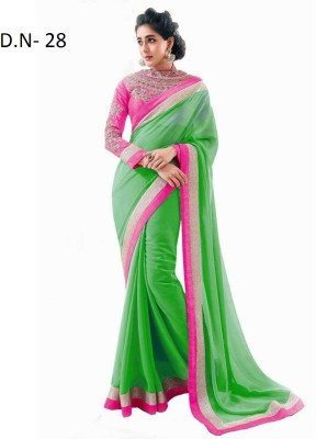 Kanupriya Self Design Fashion Chiffon Sari