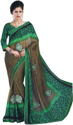 Sarika Fashion Embriodered, Printed Fashion Chiffon Sari