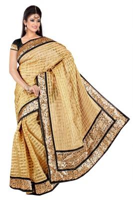 Glamoroussurat Fashion Embellished Bollywood Handloom Silk Cotton Blend Sari