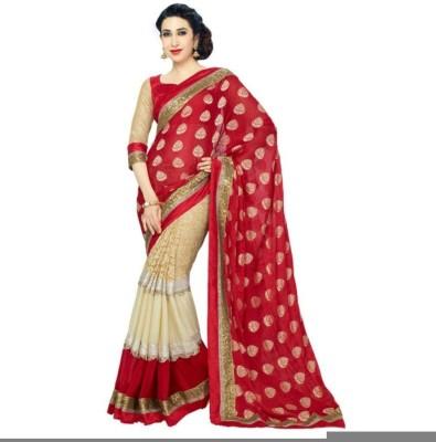 Ridhhi Self Design Bollywood Net Sari