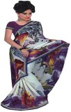 Saloni Printed Bollywood Synthetic Saree...