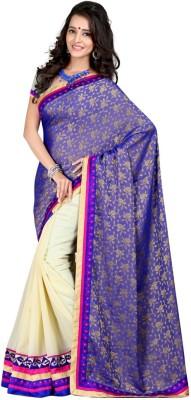 Aryansh Designers Embriodered Fashion Georgette Sari