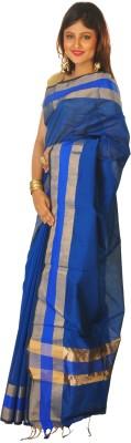 Sayani Boutique Plain Daily Wear Silk Cotton Blend Sari