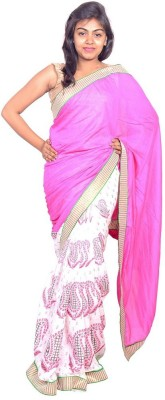 MSS Printed Bollywood Cotton Sari