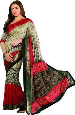 Oswal 777 Printed Fashion Art Silk Sari