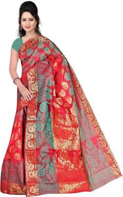Pure Silk Embriodered Banarasi Banarasi Silk Sari