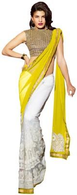 Maniya Embriodered Fashion Handloom Georgette Sari