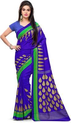 AJS Paisley, Floral Print, Geometric Print, Striped, Printed Fashion Art Silk Sari