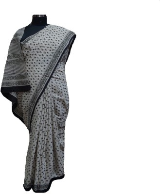 malvika exclusive Printed Daily Wear Handloom Cotton Sari