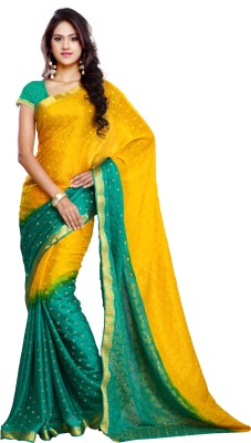 Makeway Self Design Bollywood Viscose Sari
