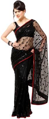 Radhika Sari Embellished Bollywood Handloom Net Sari