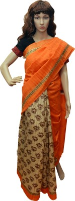 arya silks Printed Fashion Cotton Sari
