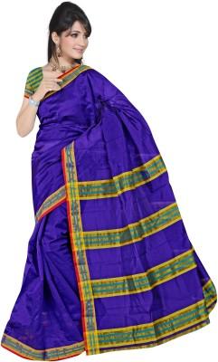 Sweetlook Striped Mangalagiri Handloom Cotton Sari