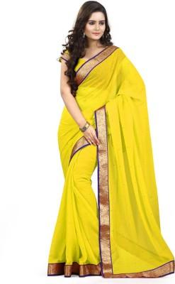 Shree Tex Self Design Fashion Georgette Sari