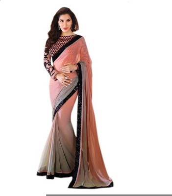 Lime Embellished Fashion Handloom Dupion Silk Sari