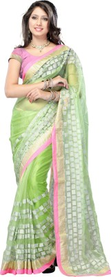 Royal N Rich Solid Bollywood Net Sari