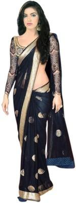 See More Self Design Bollywood Net Sari