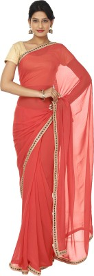 Kajal New Collection Plain Fashion Net, Chiffon Sari