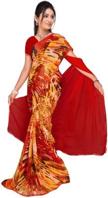 Vardan Prints Printed Fashion Chiffon Sari