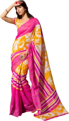 Hypnotex Printed Fashion Art Silk Sari
