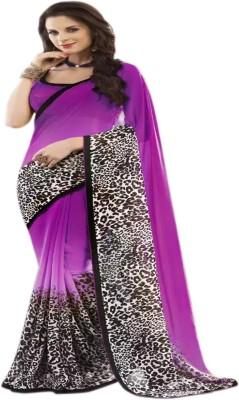 Jhumri Printed Fashion Georgette Sari
