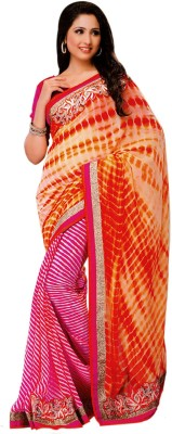 Abida Printed Fashion Chiffon Sari