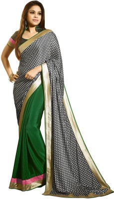 Vaishali Embellished Fashion Crepe Sari