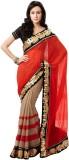 Eracreation Printed Fashion Chiffon Sari