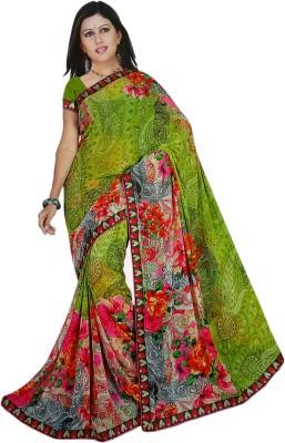 Mavani Printed Bollywood Viscose Sari
