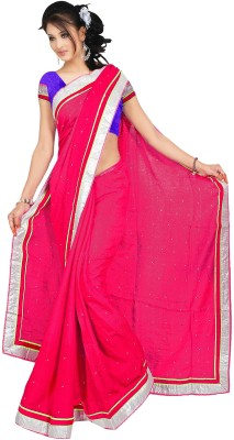 Kushbo Self Design Bollywood Georgette Sari