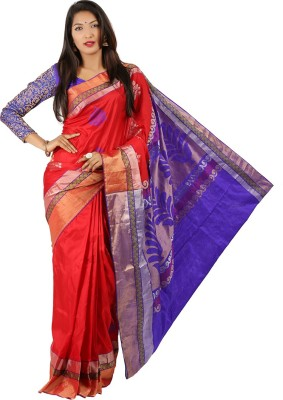 Adinath Woven Coimbatore Pure Silk Sari