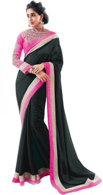Aryahi Solid Daily Wear Georgette Sari