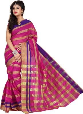 Shonaya Printed Banarasi Art Silk Saree(Multicolor) at flipkart