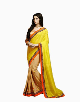 Manjaree Solid Fashion Silk Sari