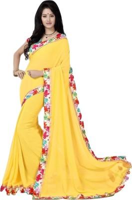 Aracruz Floral Print Fashion Georgette Sari