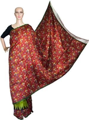 Prateeti Printed Daily Wear Handloom Pure Silk Sari