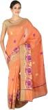 Craftghar Solid Banarasi Cotton Saree (O...